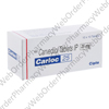 Carloc 25 (Carvedilol) - 25mg (10 Tablets) P1