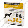 D.A. Double Advantage Spot On Solution (For Dogs 10-25kg Body Weight) Large Dog P1