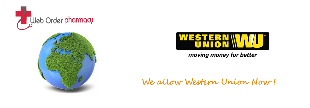 We allow Western Union now!